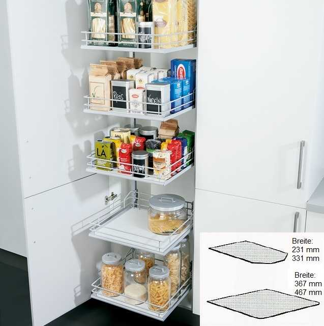 next125 einlegematte f r vorrats etagenauszug hochschrank versandkostenfrei k chen geisler. Black Bedroom Furniture Sets. Home Design Ideas